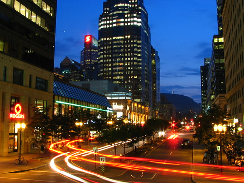 McGill College Avenue - Montreal