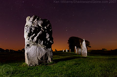 From Flickr - Avebury at Night