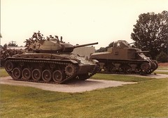 M24 Chaffee and M3 Lee (US) (Lyle58) Tags: tank wwii lee armor m3 armored chaffee m24 pattonmuseum