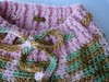 """""""Pink Camo"""" Crocheted Wool Shorties (large)"""
