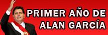 Especial Primer año de Alan García