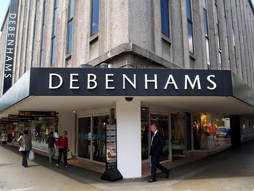 Debenhams na Oxford St.