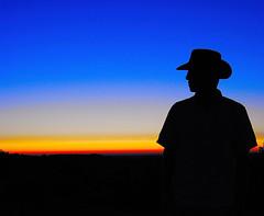 The Gold Rush (davy mameli) Tags: blue sunset shadow orange sun black silhouette yellow nikon catchycolours jour human contre impressedbeauty diamondclassphotographer d40x