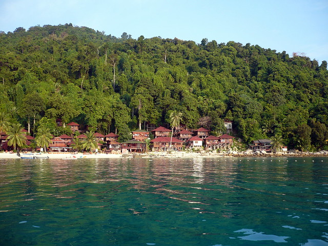 Perhentian Islands from the sea