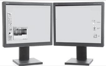 dos monitores