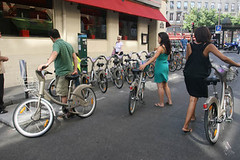 Velib's new bike system