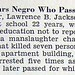 School Board Bars Negro Who Passed For White Lawrence B. Jackson - Jet Magazine Sept 23, 1954