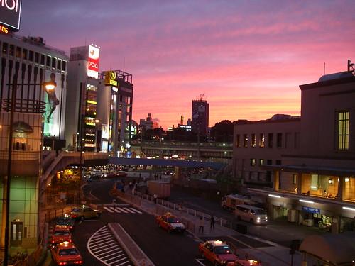 Ueno Sunset