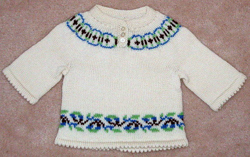 Ravelry: Fair Isle Yoke Sweater - child - WG11 SO4 pattern by ...