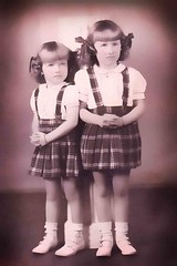 My mom (pricedawna) Tags: 1946 littlegirls mymother myaunt 34yearsold