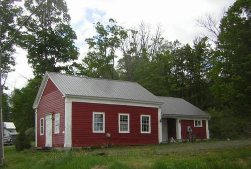 Hallsville School in Pleasant Brook, New York