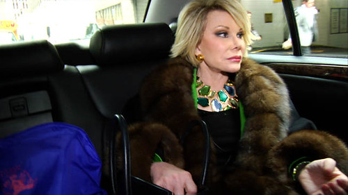 Joan Rivers is 'A Piece of Work'.