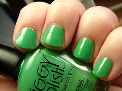 Piggy Polish Grasshopper (PuckLizardRN) Tags: green creme grasshopper nailpolish piggypolish