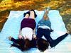 Blanket (Incase.) Tags: girls guy girl blanket laying aaronrose fakelove teensoapopera