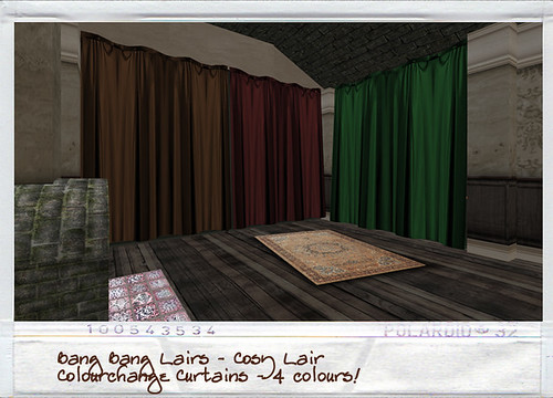 Bang Bang - Cosy Lair - Curtains!