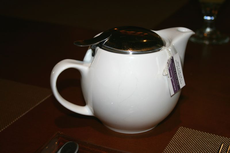 $3 pot of tea