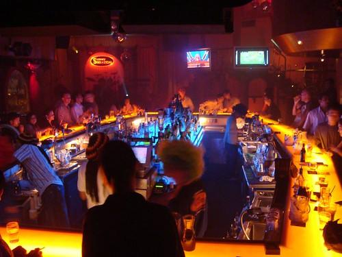 The Slippery Senoritas disco in Penang, Malaysia.