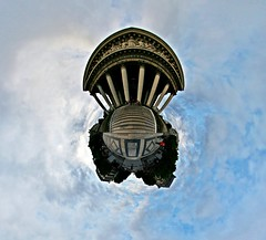 House of Zeus (Man) Tags: panorama paris france greek columns like 360 full explore handheld madeleine 360x180 spherical planetoid hugin enblend i500 littleplanet manuperez planetoids
