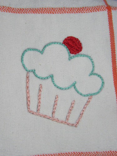 Sublime Stitching Towel - Cupcake