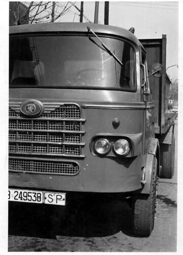 camió Nazar de l'empresa HOMS (1962)