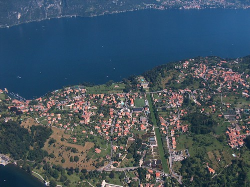 Lago di Como - A dismissed airport near Bellagio