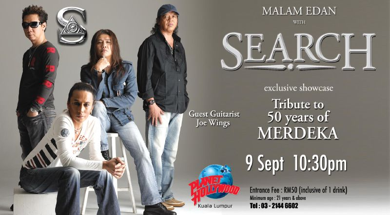 band search rock malaysia