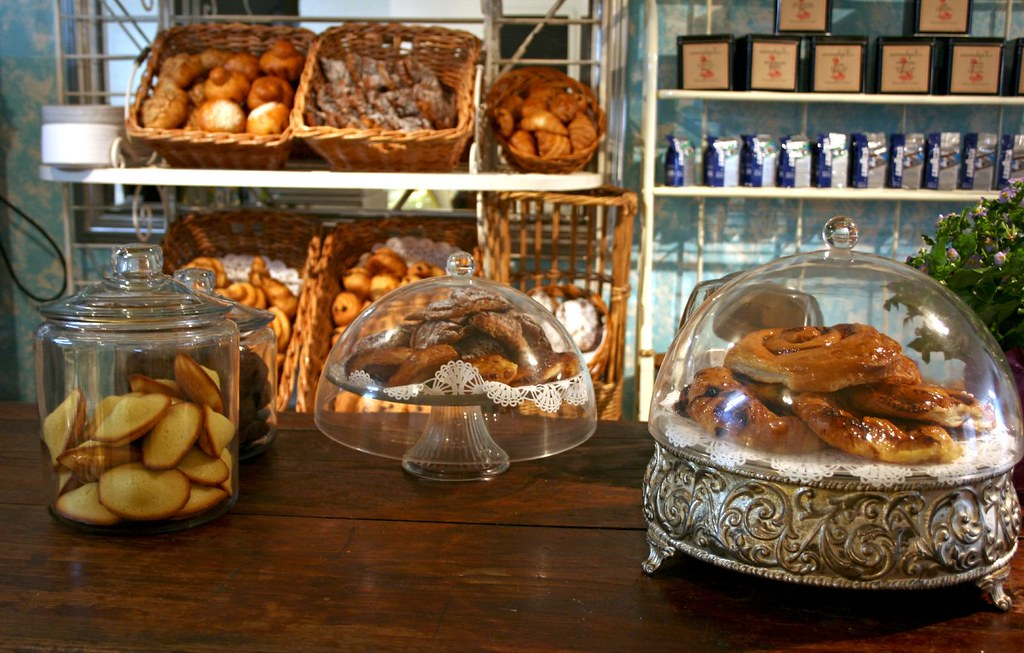 Madeline Patisserie's Counter