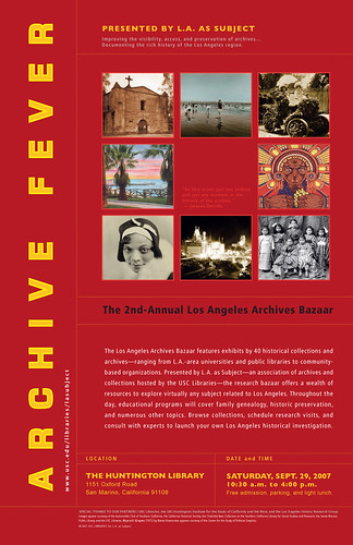 2nd Annual LA Archives Bazaar