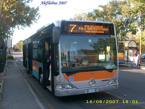 mercedes Citaro n° 132 - linea 7
