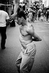 Techno Parade (102) - 15Sep07, Paris (France) (]) Tags: party portrait blackandwhite bw man paris dance dancer techno 2007 technoparade technoparade2007
