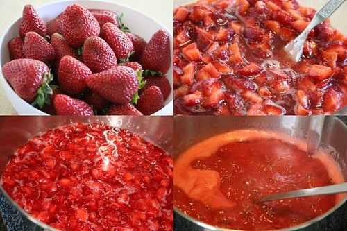 Strawberry Jam: The process