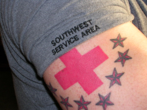 Temporary_red_cross_tattoo