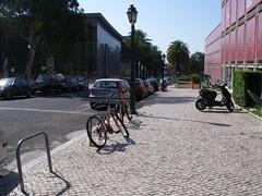 Bicicletas junto ao Casino Estoril
