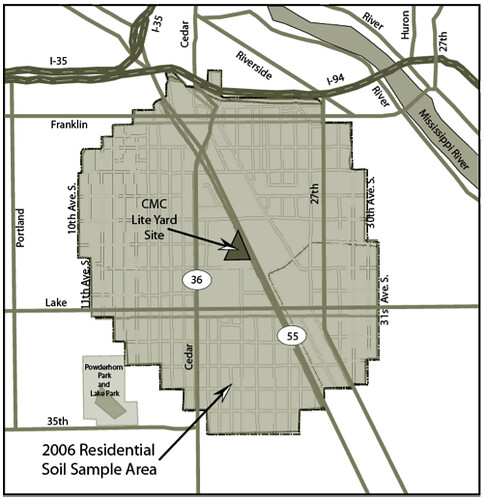 South Minneapolis Arsenic Area