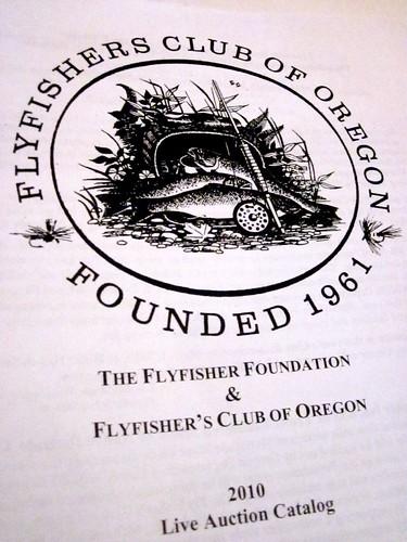 Flyfishers Club of Oregon Auction
