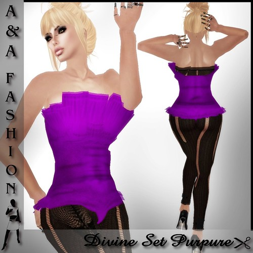 A&A Fashion Divine Set Purpure