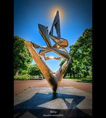Shiny (HDR) (farbspiel) Tags: blue sculpture orange colour green art colors sunshine yellow photoshop germany geotagged photography golden nikon shiny colorful colours shine artistic stuttgart wideangle bluesky blended handheld colourful dri blauerhimmel deu hdr highdynamicrange farben blend schlossgarten sonnenschein superwideangle niceweather 10mm postprocessing badenwrttemberg dynamicrangeincrease ultrawideangle d90 schneswetter photomatix digitalblending tonemapped tonemapping farbenpracht detailenhancer obererschlossgarten topazadjust topazdenoise klausherrmann topazsoftware sigma1020mmf35exdchsm topazphotoshopbundle geo:lat=4878084675 geo:lon=918388635