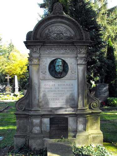 Tomb of Prof. Oskar Sommer (1840-1894)