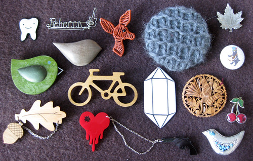A few of my favourite brooches