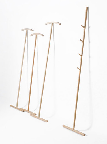 Kleiderstiele by Johanna Dehio, Wardrobe stick, coat rack