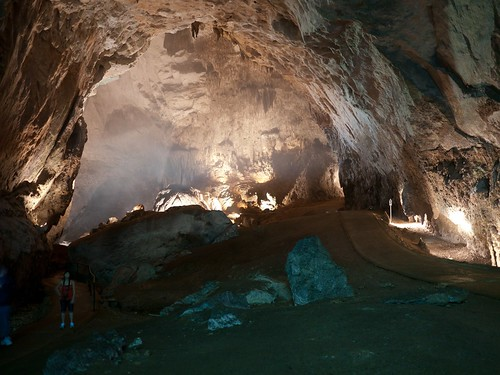 First view of the cave