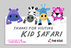 kid safari visit postcard copy