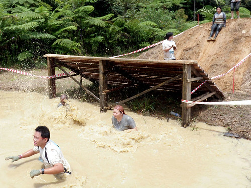 Genting Trailblazer 2010 - Cold water in trench