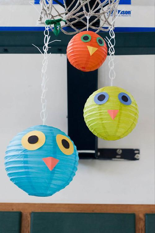 Owl Themed Birthday Party - III