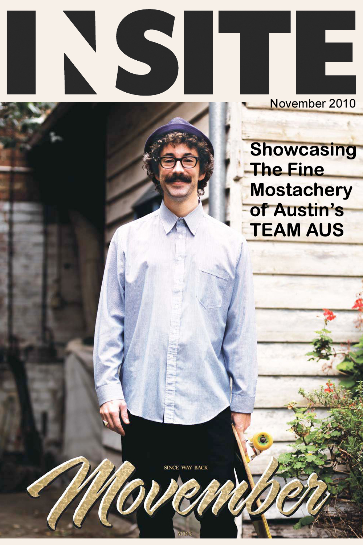 November 2010 - cover: Movember