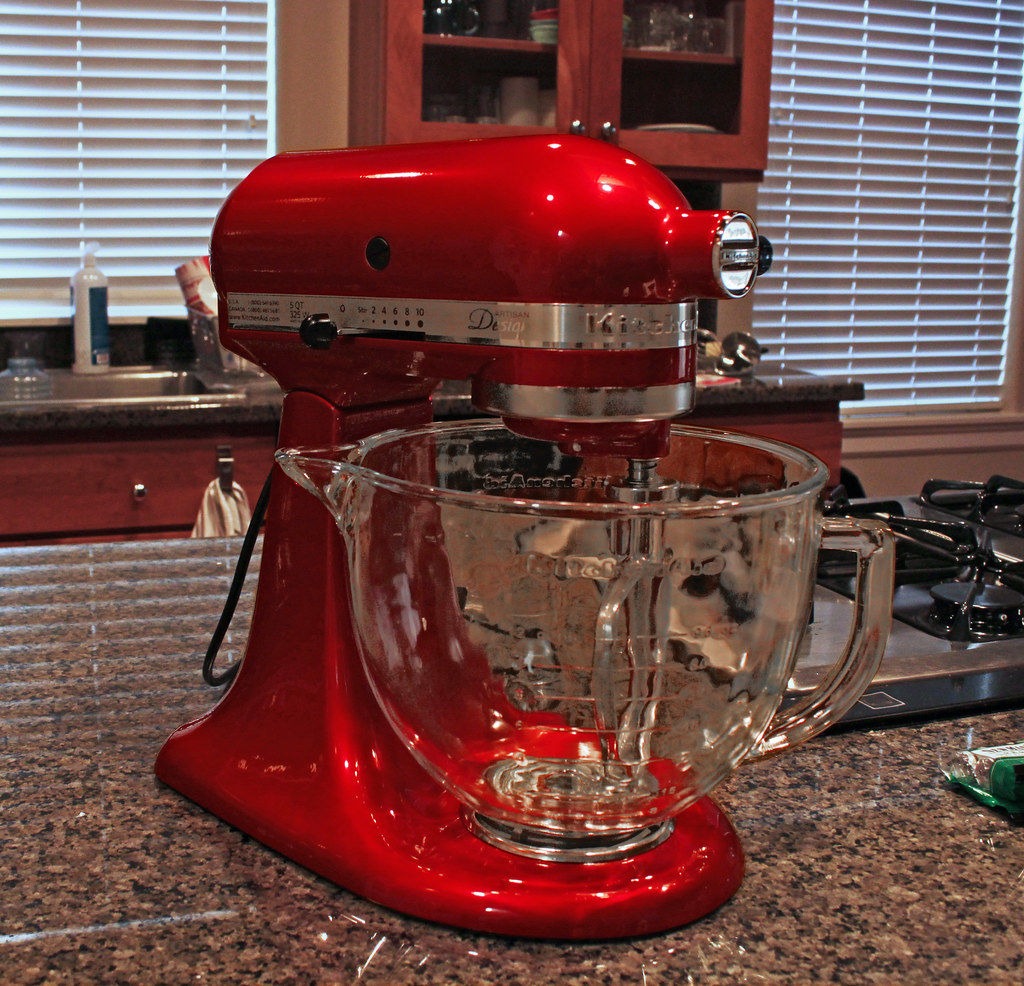 New Kitchen Aid