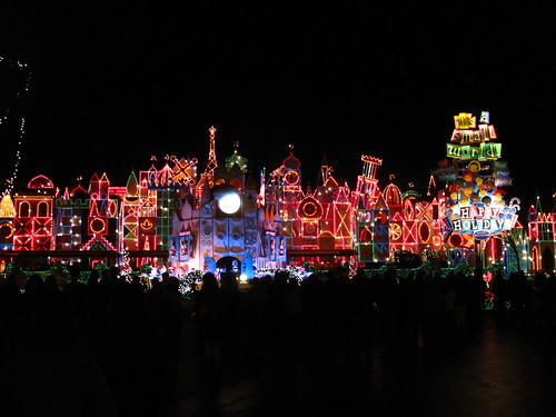 It's A Small World Holiday At Night!