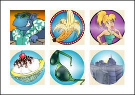free Cool Bananas slot game symbols