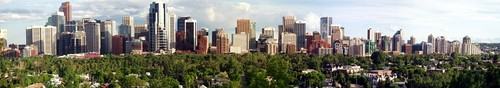 Calgary Panarama Autostitch