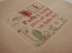 """Faith"" thread pack by Little House Needleworks"